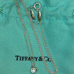 "Elsa Peretti By The Yard Aquamarine Necklace 16"""